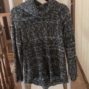 Abound black and white turtleneck sweater
